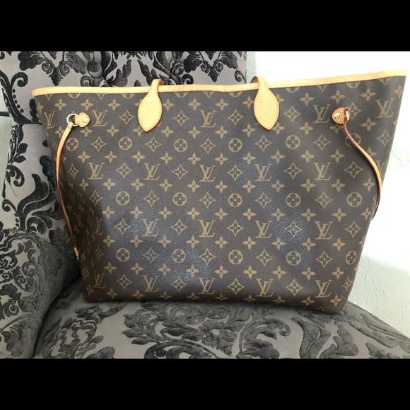 Louis Vuitton Handbags - Louis Vuitton never full MM handbag